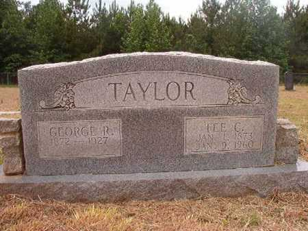 TAYLOR, GEORGE R - Nevada County, Arkansas | GEORGE R TAYLOR - Arkansas Gravestone Photos