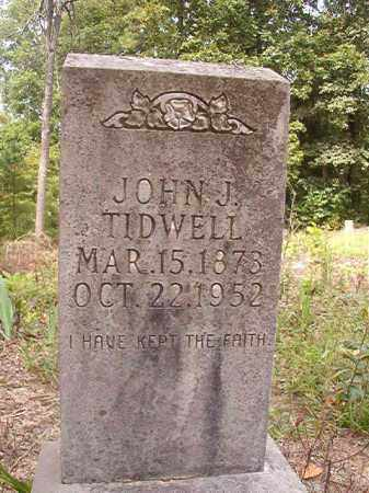 TIDWELL, JOHN J - Nevada County, Arkansas | JOHN J TIDWELL - Arkansas Gravestone Photos