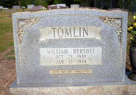 TOMLIN, WILLIAM HERSHEL - Nevada County, Arkansas   WILLIAM HERSHEL TOMLIN - Arkansas Gravestone Photos