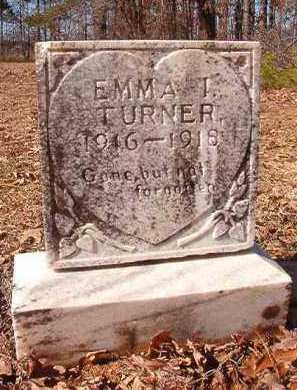 TURNER, EMMA I - Nevada County, Arkansas | EMMA I TURNER - Arkansas Gravestone Photos