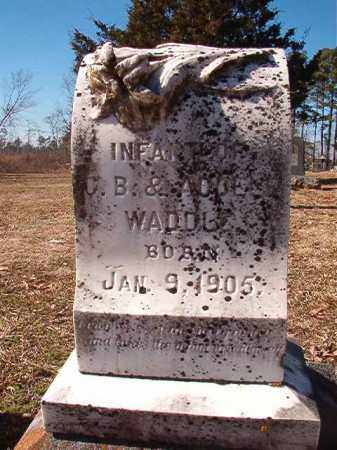 WADDLE, INFANT - Nevada County, Arkansas   INFANT WADDLE - Arkansas Gravestone Photos
