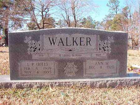 WALKER, L P (BILL) - Nevada County, Arkansas | L P (BILL) WALKER - Arkansas Gravestone Photos