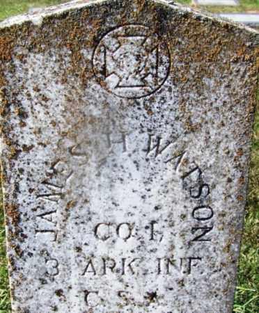 WATSON (VETERAN CSA), JAMES H - Nevada County, Arkansas | JAMES H WATSON (VETERAN CSA) - Arkansas Gravestone Photos