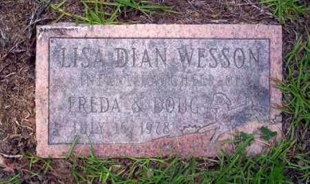 WESSON, LISA DIAN - Nevada County, Arkansas   LISA DIAN WESSON - Arkansas Gravestone Photos