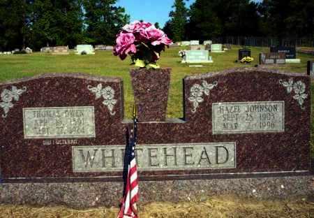 WHITEHEAD, HAZEL - Nevada County, Arkansas   HAZEL WHITEHEAD - Arkansas Gravestone Photos
