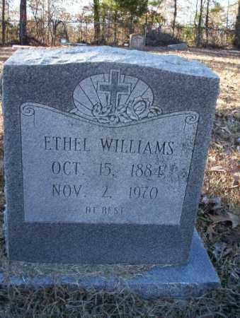 WILLIAMS, ETHEL - Nevada County, Arkansas | ETHEL WILLIAMS - Arkansas Gravestone Photos
