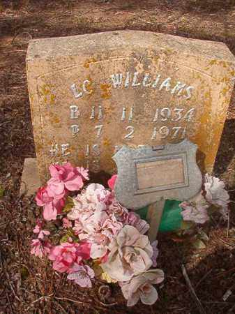 WILLIAMS, L C - Nevada County, Arkansas | L C WILLIAMS - Arkansas Gravestone Photos
