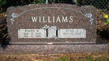 WILLIAMS, RALPH W - Nevada County, Arkansas | RALPH W WILLIAMS - Arkansas Gravestone Photos