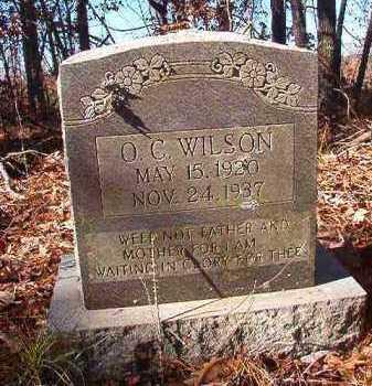 WILSON, O C - Nevada County, Arkansas   O C WILSON - Arkansas Gravestone Photos