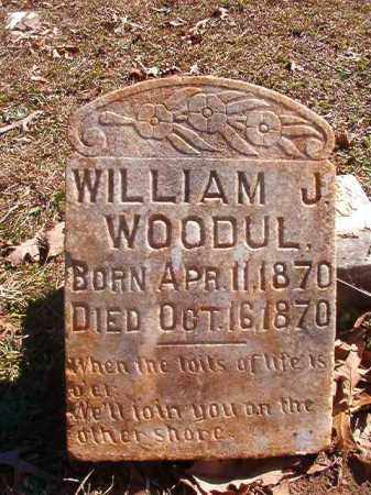 WOODUL, WILLIAM J - Nevada County, Arkansas | WILLIAM J WOODUL - Arkansas Gravestone Photos