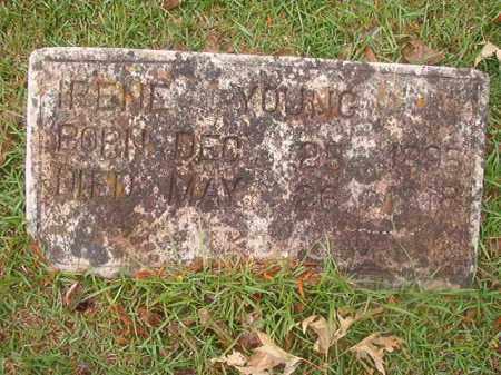 YOUNG, IRENE - Nevada County, Arkansas   IRENE YOUNG - Arkansas Gravestone Photos