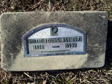 YOUNG, MILLIE - Nevada County, Arkansas | MILLIE YOUNG - Arkansas Gravestone Photos