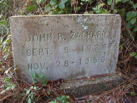 ZACHARY, JOHN R - Nevada County, Arkansas | JOHN R ZACHARY - Arkansas Gravestone Photos