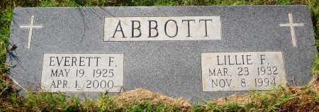 STRODE ABBOTT, LILLIE FERN - Newton County, Arkansas | LILLIE FERN STRODE ABBOTT - Arkansas Gravestone Photos
