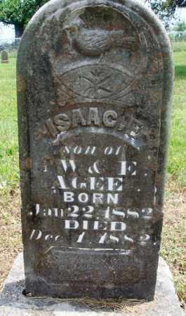 AGEE, ISAAC F - Newton County, Arkansas | ISAAC F AGEE - Arkansas Gravestone Photos