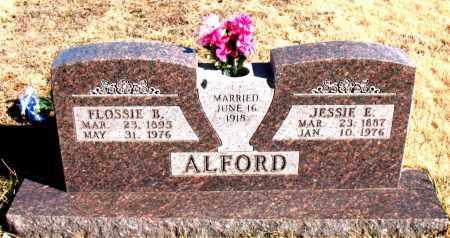 ALFORD, FLOSSIE B. - Newton County, Arkansas | FLOSSIE B. ALFORD - Arkansas Gravestone Photos