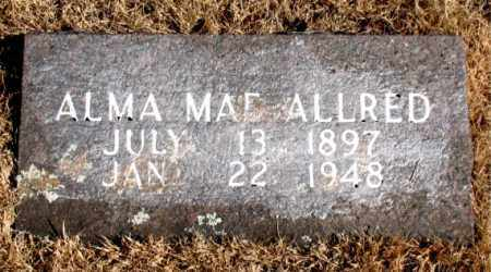 ALLRED, ALMA MAE - Newton County, Arkansas | ALMA MAE ALLRED - Arkansas Gravestone Photos