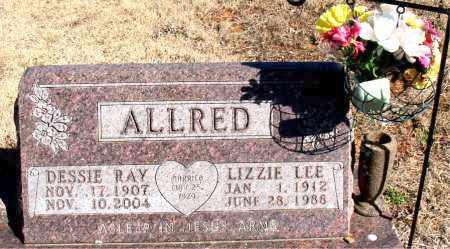 ALLRED, DESSIE RAY - Newton County, Arkansas | DESSIE RAY ALLRED - Arkansas Gravestone Photos