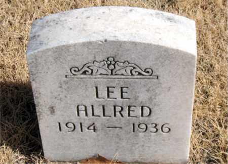 ALLRED, LEE - Newton County, Arkansas | LEE ALLRED - Arkansas Gravestone Photos