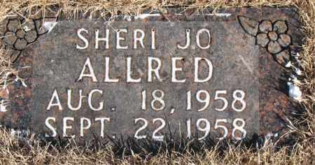 ALLRED, SHERI JO - Newton County, Arkansas | SHERI JO ALLRED - Arkansas Gravestone Photos