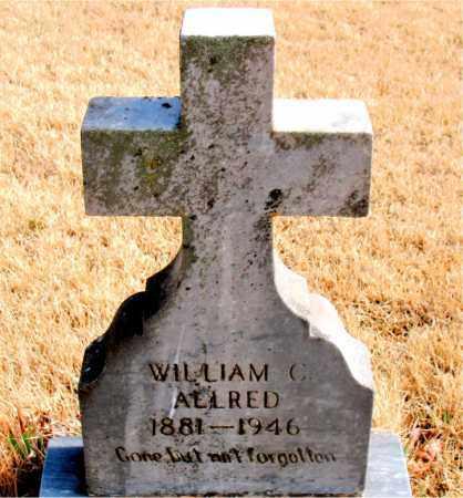 ALLRED, WILLIAM C. - Newton County, Arkansas | WILLIAM C. ALLRED - Arkansas Gravestone Photos