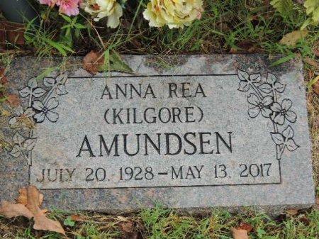 KILGORE AMUNDSEN, ANNA REA - Newton County, Arkansas   ANNA REA KILGORE AMUNDSEN - Arkansas Gravestone Photos