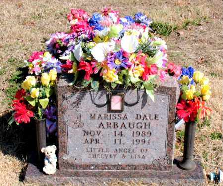 ARBAUGH, MARISSA DALE - Newton County, Arkansas | MARISSA DALE ARBAUGH - Arkansas Gravestone Photos