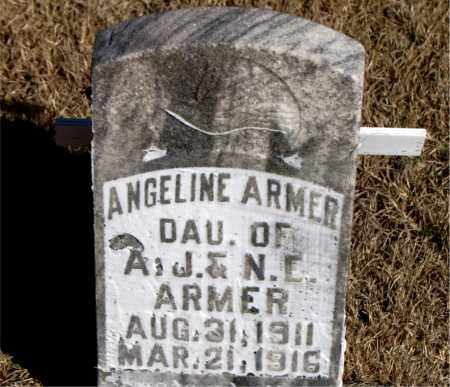 ARMER, ANGELINE - Newton County, Arkansas   ANGELINE ARMER - Arkansas Gravestone Photos