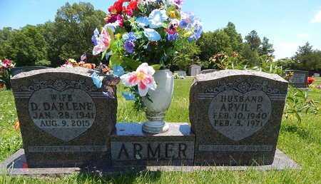 ARMER, ARVIL F. - Newton County, Arkansas | ARVIL F. ARMER - Arkansas Gravestone Photos