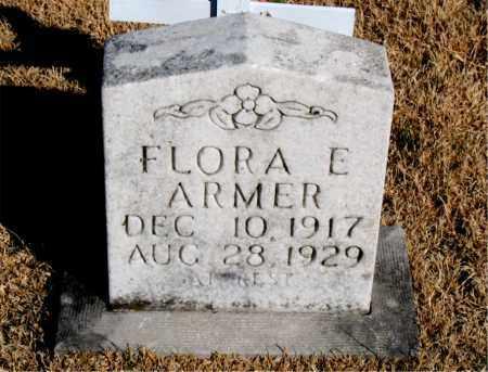 ARMER, FLORA E. - Newton County, Arkansas | FLORA E. ARMER - Arkansas Gravestone Photos