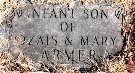 ARMER, INFANT SON - Newton County, Arkansas | INFANT SON ARMER - Arkansas Gravestone Photos
