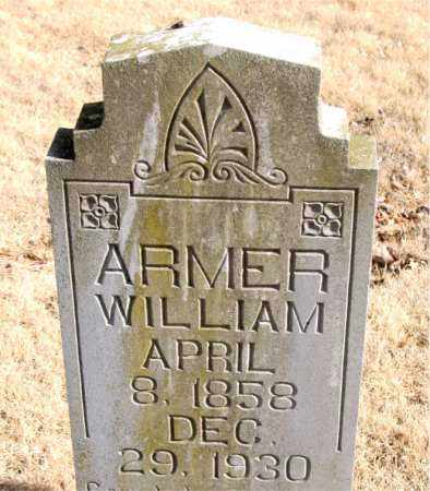 ARMER, WILLIAM - Newton County, Arkansas | WILLIAM ARMER - Arkansas Gravestone Photos