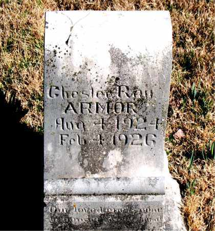 ARMOR, CHESTER RAY - Newton County, Arkansas | CHESTER RAY ARMOR - Arkansas Gravestone Photos
