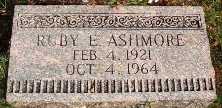 ASHMORE, RUBY E. - Newton County, Arkansas | RUBY E. ASHMORE - Arkansas Gravestone Photos