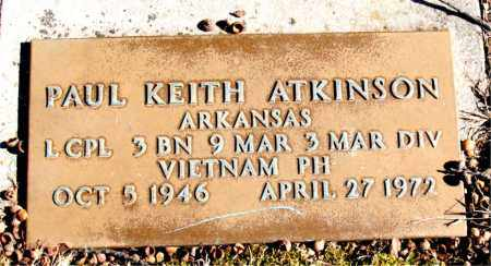 ATKINSON  (VETERAN VIET), PAUL KEITH - Newton County, Arkansas | PAUL KEITH ATKINSON  (VETERAN VIET) - Arkansas Gravestone Photos