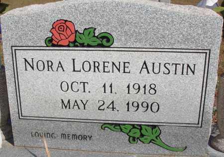 THOMAS AUSTIN, NORA LORENE - Newton County, Arkansas   NORA LORENE THOMAS AUSTIN - Arkansas Gravestone Photos