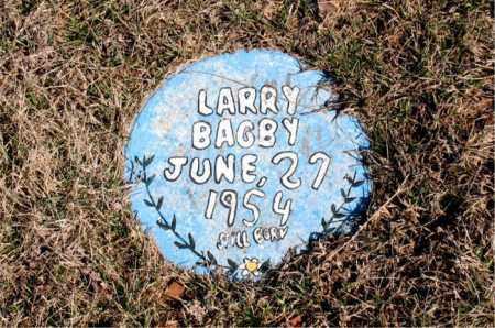 BAGBY, LARRY - Newton County, Arkansas | LARRY BAGBY - Arkansas Gravestone Photos