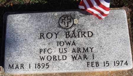 BAIRD  (VETERAN WWI), ROY - Newton County, Arkansas | ROY BAIRD  (VETERAN WWI) - Arkansas Gravestone Photos