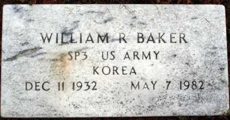 BAKER  (VETERAN KOR), WILLIAM R. - Newton County, Arkansas   WILLIAM R. BAKER  (VETERAN KOR) - Arkansas Gravestone Photos