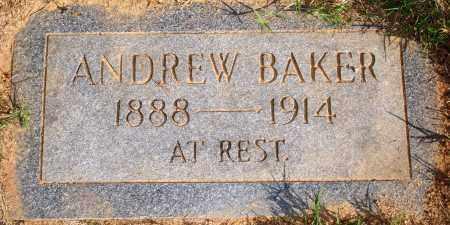 BAKER, ANDREW - Newton County, Arkansas | ANDREW BAKER - Arkansas Gravestone Photos