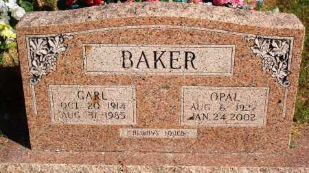 BAKER, OPAL - Newton County, Arkansas | OPAL BAKER - Arkansas Gravestone Photos