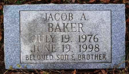 BAKER, JACOB A. - Newton County, Arkansas | JACOB A. BAKER - Arkansas Gravestone Photos