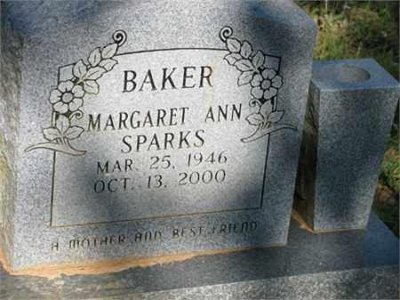 BAKER, MARGARET ANN - Newton County, Arkansas | MARGARET ANN BAKER - Arkansas Gravestone Photos