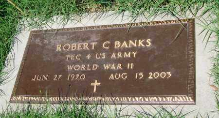 BANKS (VETERAN WWII), ROBERT C - Newton County, Arkansas | ROBERT C BANKS (VETERAN WWII) - Arkansas Gravestone Photos