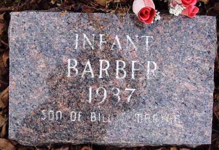BARBER, INFANT SON - Newton County, Arkansas | INFANT SON BARBER - Arkansas Gravestone Photos