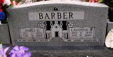 BARBER, LAVONNA S. - Newton County, Arkansas   LAVONNA S. BARBER - Arkansas Gravestone Photos