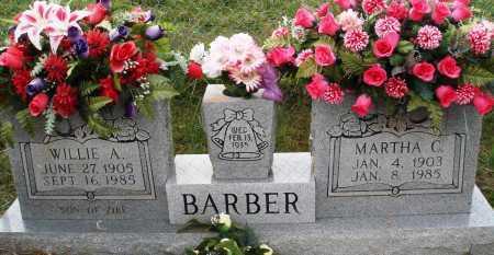 BARBER, WILLIE A. - Newton County, Arkansas | WILLIE A. BARBER - Arkansas Gravestone Photos