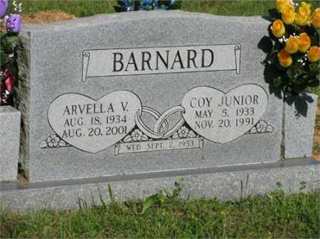 BARNARD, ARVELLA V. - Newton County, Arkansas   ARVELLA V. BARNARD - Arkansas Gravestone Photos