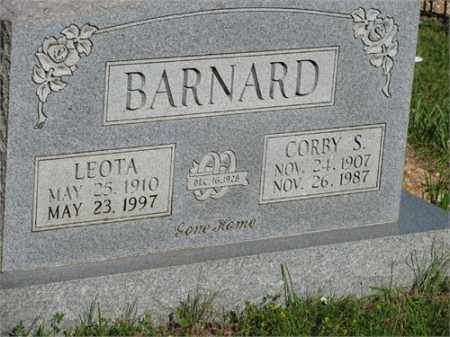 BARNARD, LEOTA - Newton County, Arkansas | LEOTA BARNARD - Arkansas Gravestone Photos