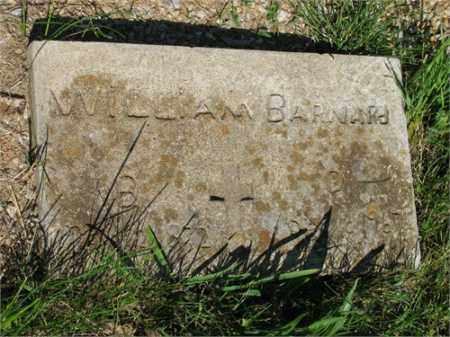 BARNARD, WILLIAM - Newton County, Arkansas | WILLIAM BARNARD - Arkansas Gravestone Photos